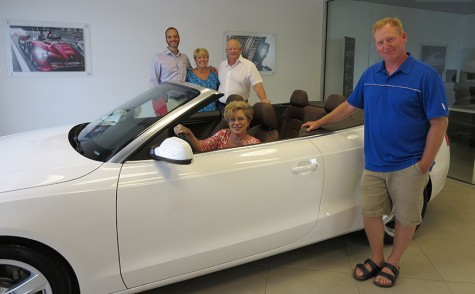 southport resident wins hospice audi raffle port city daily. Black Bedroom Furniture Sets. Home Design Ideas