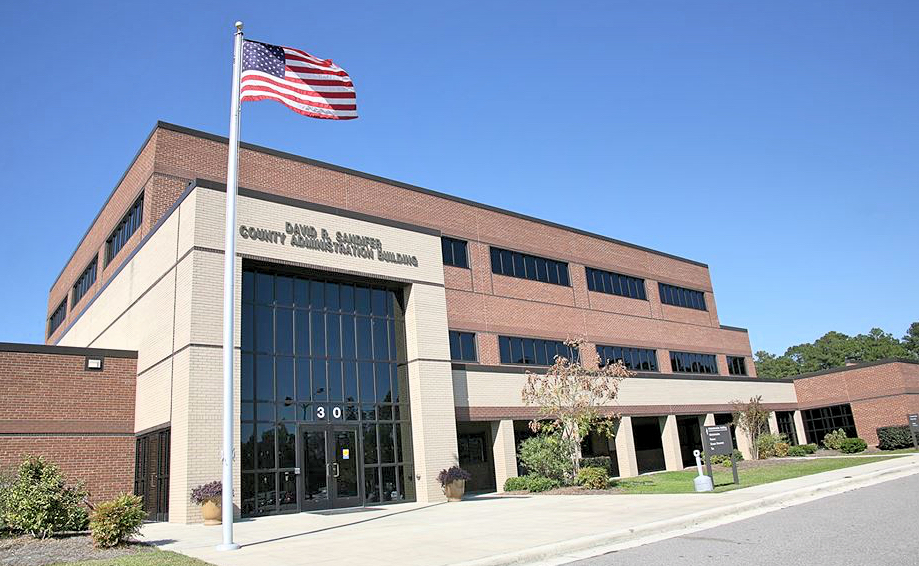 Brunswick County David Sanders Administration Building_Fotor