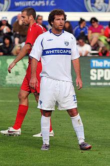 Cody Arnoux on the Vancouver Whitecaps. Photo courtesy- Wikipedia