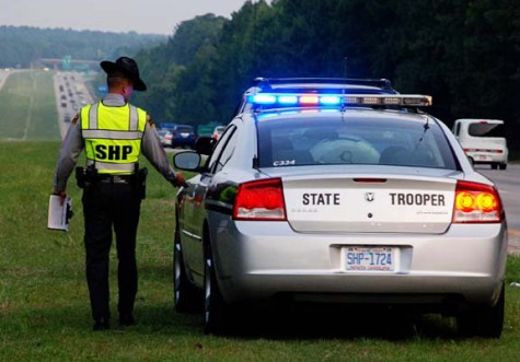 Nearly 3,000 drivers were cited for texting while driving in North Carolina last year. (Courtesy photo.)