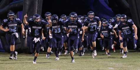 Hoggard used a big first half to grab an early edge over Clinton. Photo courtesy- John Crouch