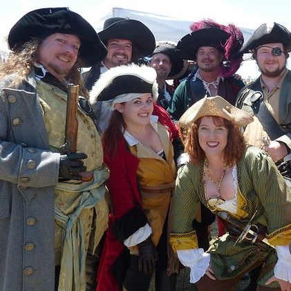 The Feast of the Pirates will include a host of events, including a costume contest and re-enactments. Photo courtesy WHET.