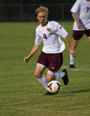 Ashley now has a one game lead in conference heading into the second half of league play. Photo courtesy- Ashley soccer