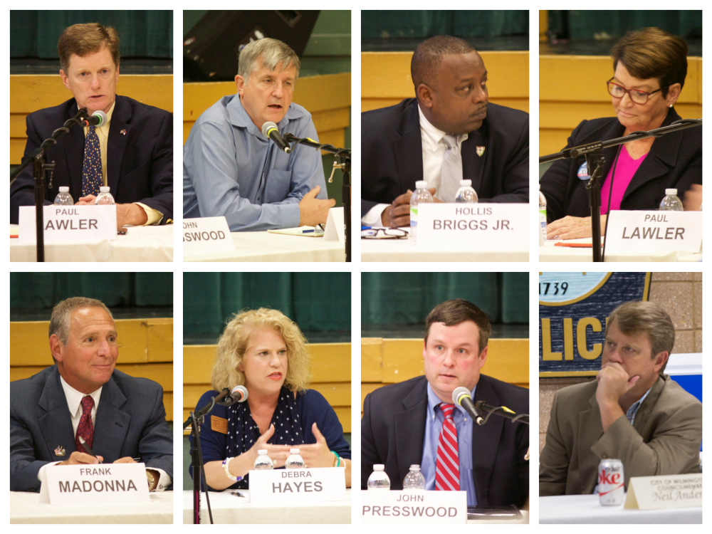 City council candidate photo collage