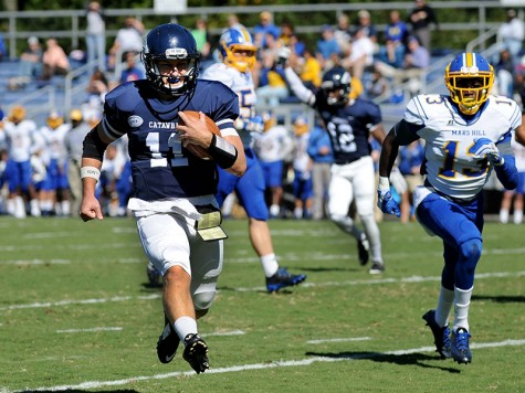 Mike Sheehan continues to deliver for Catawba. Photo courtesy- Catawba football.