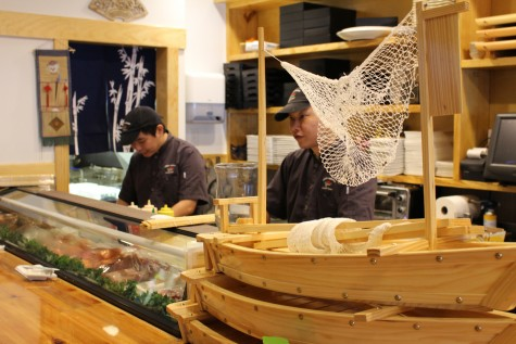 The newly renovated downtown Nikki's location includes a sprawling sushi bar and new menu items. Photos by Hilary Snow.
