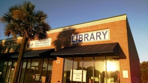 The new Pleasure Island Branch Library. Photo courtesy of the New Hanover County Public Library.