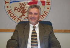 Kure Beach Commissioner Steve Pagley. Photo courtesy of the Town of Kure Beach.