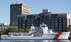 U.S. Coast Guard Diligence in downtown Wilmington. File photo.