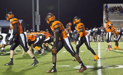New Hanover's high-powered offense put up 47 points against Knightdale on Friday night. Photo by Hannah Leyva.