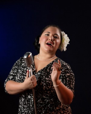 LaRaisha Burnette reprises her role as Billie Holiday this weekend at Blockade Runner. Courtesy photo.