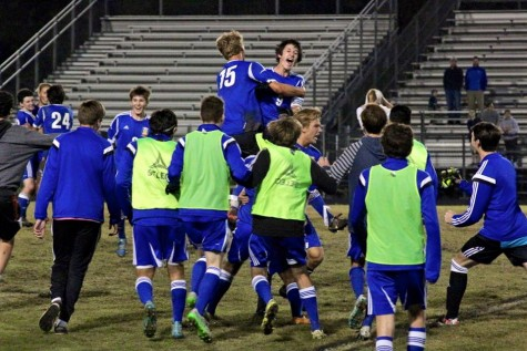 Laney soccer plays for its first ever state title on Saturday. Photo courtesy- Laney soccer
