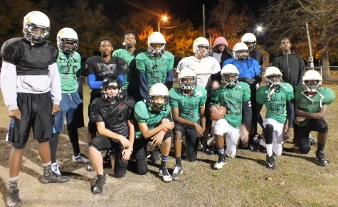 The Wilmington Eagles hold team practices at the MLK Center on 8th Street.