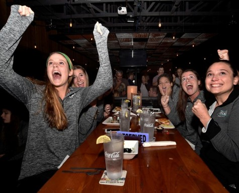 UNCW held a watch party during Sunday's NCAA selection show.
