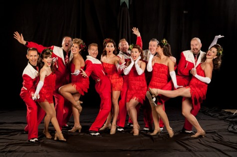 The Jive Aces and The Satin Dollz bring their jump and jivin' holiday show to Thalian Hall on Dec. 1. Courtesy photos.