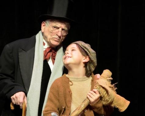Thalian director Tony Rivenbark reprises his role as Ebeneezer Scrooge in 'A Christmas Carol' next month.