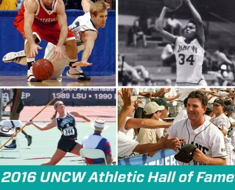UNCW will induct four new members into its Athletics Hall of Fame in 2016. Photo courtesy- UNCW sports