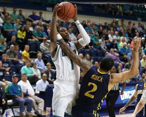 UNCW grabbed a 12 point result in its CAA opener. Photo courtesy- UNCW sports