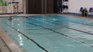 The Wilmington Family YMCA opened it's 4-lane pool this month.