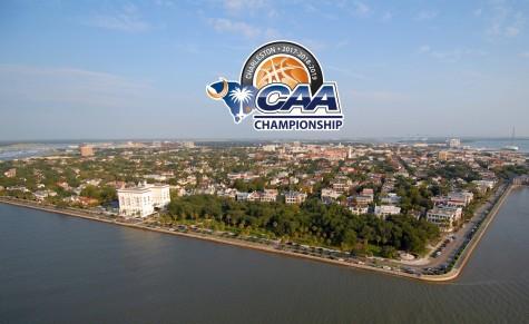 The CAA Men's Basketball Championship will move to Charleston in 2017. Photo courtesy- CAA Sports