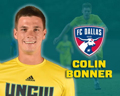 Colin Bonner. Photo courtesy- UNCW sports