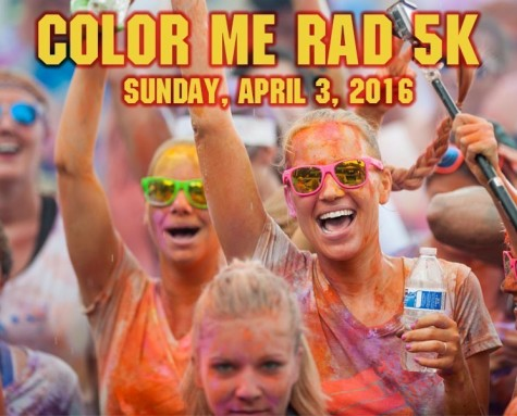 Color Me Rad will brings its popular race to Wilmington again in April.
