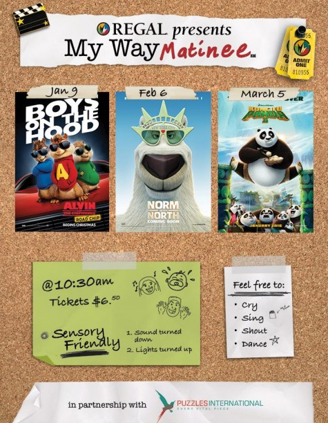Mayfaire will once again participate in My Way Matinee beginning this Saturday. Courtesy image.