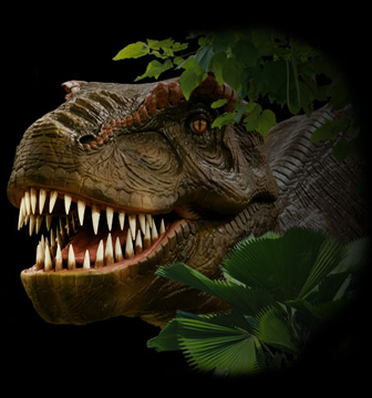 Discover the Dinosaurs, a national touring interactive exhibit devoted to the prehistoric lizards, runs Saturday and Sunday at the Wilmington Convention Center.