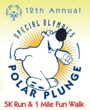 12th Annual Special Olympics Polar Plunge in Carolina Beach.
