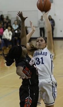 Aleah Thompson had a double-double on Friday.