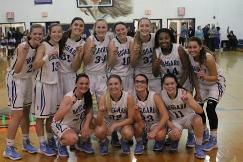 The Hoggard girls basketball team. Photos courtesy- Rodney Williams.