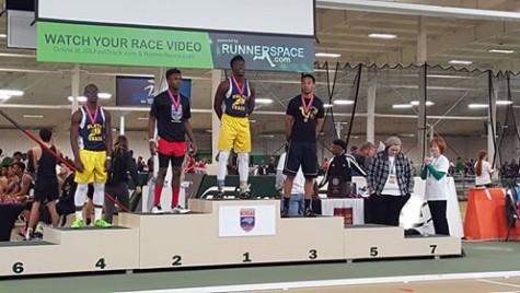 Jayhlen Washington defended its long jump title on Saturday.