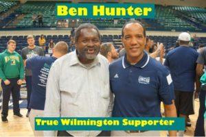 Benjamin Hunter Jr. and Coach Kevin Keatts