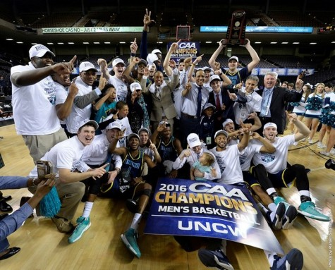 UNCW will make its first appearance in the NCAA Tournament since 2006. Photo courtesy- UNCW sports