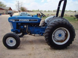 This photograph is similar to the tractor taken from a Shallotte construction site. Photo courtesy of the Brunswick County Sheriff's Office.