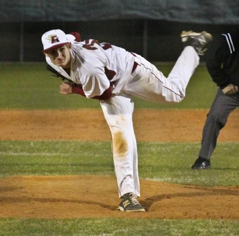 Ashley High School pitcher Kevin Mintz. Photo by Hannah Leyva.