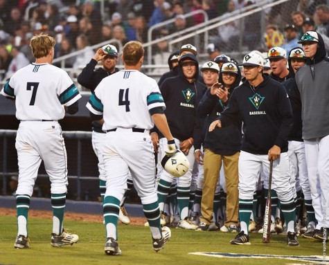 The UNCW baseball team grabbed its four win in arow on Tuesday. Photo courtesy- UNCW sports