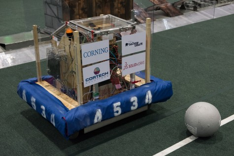 The Wizards' robot will face off, arena-style, at the event, which annually draws 20,000 teens from 39 countries.