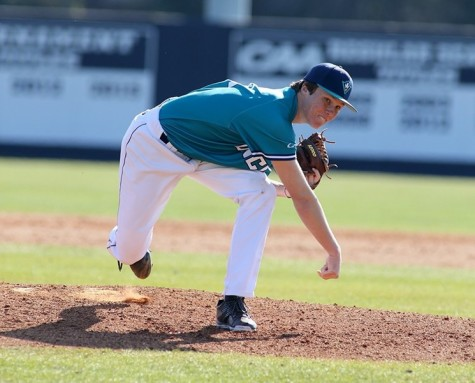 Alex Royalty had a strong outing for UNCW on Saturday. Photo courtesy- UNCW sports