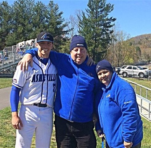 Danny Wilson and his parents, Carmen, right, and Edward. Photo courtesy- Edward Wilson.