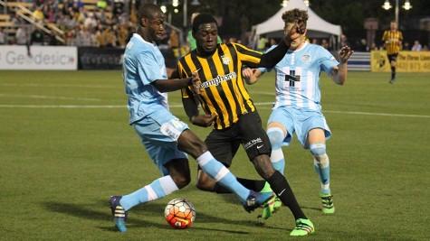 Wilmington was pressured late in the second half on Saturday. Photo courtesy Kim Morgan Gregory.