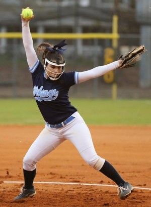 Morgan Mathis delivered for Hoggard on Friday. Photo courtesy- John Crouch