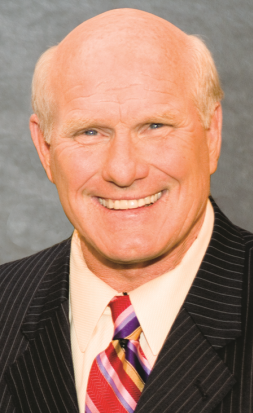 Former NFL quarterback and two-time Super Bowl MVP Terry Bradshaw. Courtesy photo.