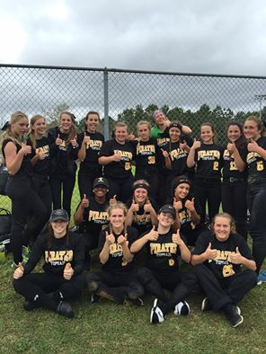 The Topsail softball team picked up a pair of wins over the weekend. Photo courtesy- Jay Abston.
