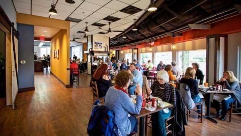 Famous Toastery has seen a steady flow of customers since opening up earlier this month in the old Havana's Restaurant on Wrightsville Avenue. Photo courtesy Famous Toastery.