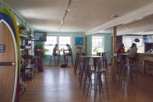 Sundays Cafe recently opened in Wrightsville Beach above South End Surf Shop. Photo by Hannah Leyva.