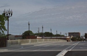 The new Third Street Bridge was done in a simple but classic 1920s style. Photo by Hannah Leyva.