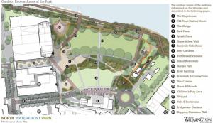 North Riverfront Park concept design.