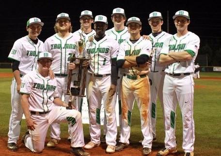 The nine West Brunswick senior after this years spring break tournament. Photo courtesy- West Brunswick baseball.