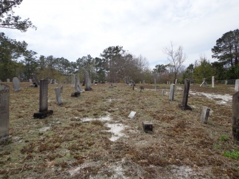 The Flemington-Oak Grove Cemetery, a nearly abandoned site consisting of markers moved from another cemetery in the 60s, is among a general category of graveyards on this year's Most Threatened Places list. Courtesy photos.